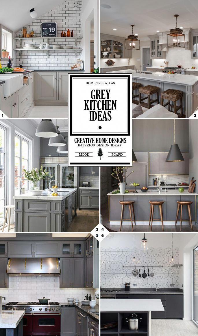 Grey Kitchen Ideas How To Style Your E Kitchencolourneutral
