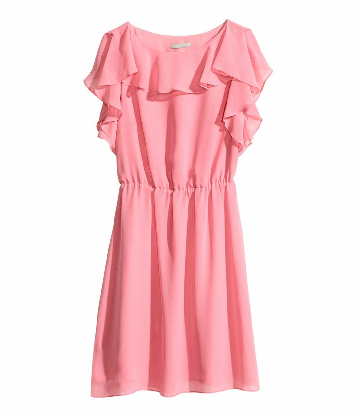 Ruffled dress hmpastels hmconscious fashion for Ecksofa 2 70 x 2 70