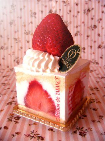 『高野フルーツパーラー』の苺のショートケーキ
