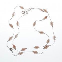 Antica Murrina Pandora #Necklace - Amber #jewellery #murano