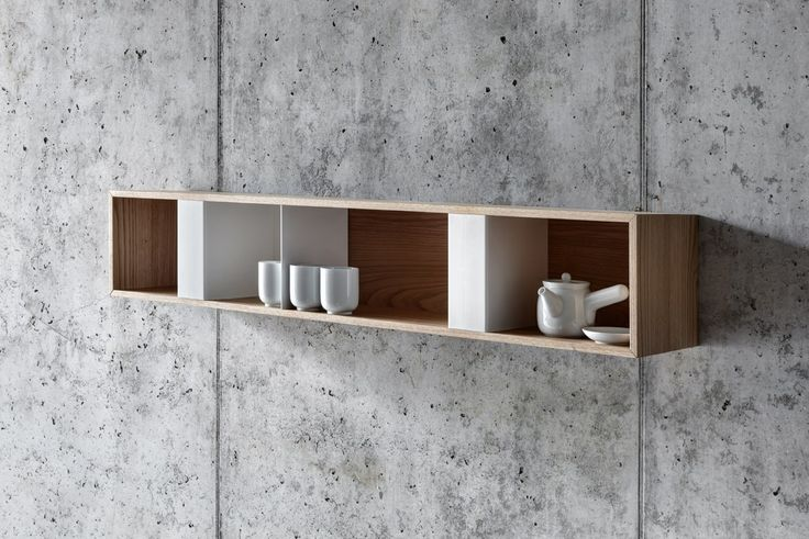 Steel and wood wall cabinet T BOX By FIORONI design act romegialli