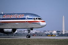 A Boeing 757, reg. N64AAA: Flight 77 was an American Airlines domestic transcontinental passenger flight from Washington Dulles International Airport to Los Angeles International Airport. The aircraft was hijacked by five members of al-Qaeda on Sept 11, 2001. They crashed the plane into the Pentagon in Arlington County, VA, killing all 64 people on board, including the five hijackers and six crew, as well as 125 people in the building.