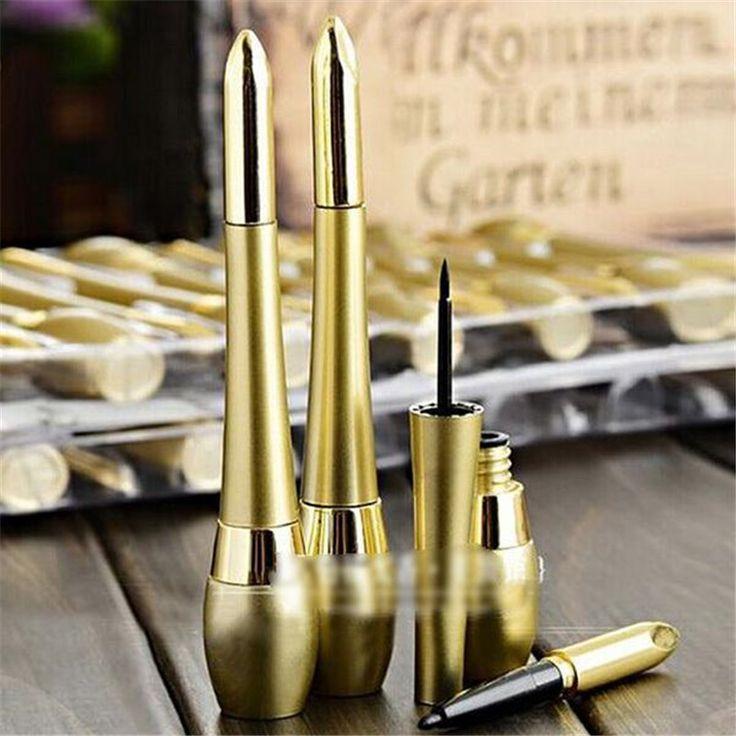 Super Podwójnego zastosowania Eyeliner Eye Liner Waterproof Ciecz Ołówek Beauty Make Up Cosmetic SM24 Nowy