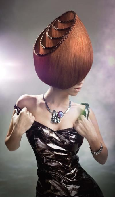 Hair Art, how is this even possible?