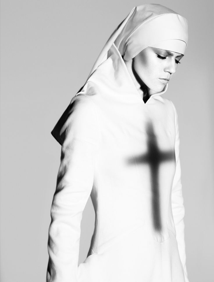 Masha Novoselova by Miguel Reveriego for Vogue Germany April 2008