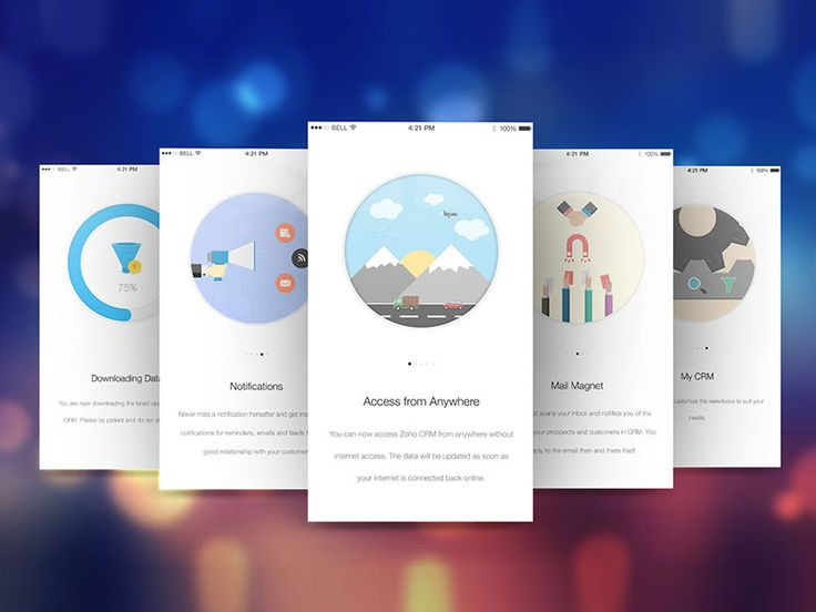 These are some introduction screens designed for an upcoming app. Link to app will be provided after the launch.