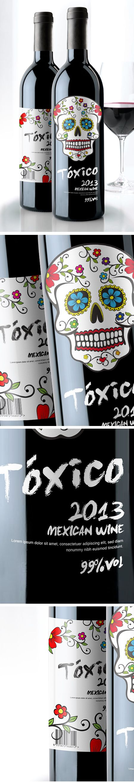 Marc, Our top pin from © Ilas® 2013 - Federica Febbraio / Docente Nicola Cozzolino. Awesome #packaging for our #wine loving peeps PD
