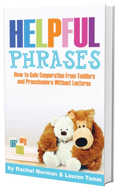 5 Phrases to help with little kids