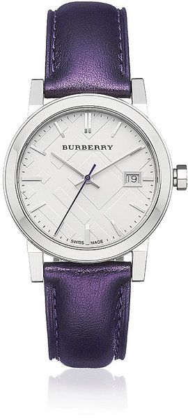 Burberry Purple Lady Watch