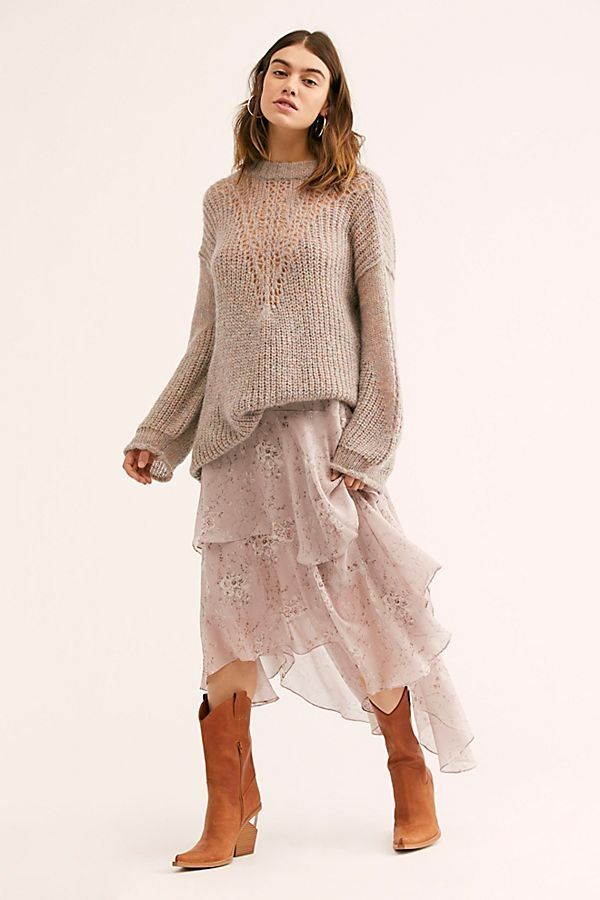 a151f04e222 Alex Skirt - Tiered Sheer Floral Maxi Skirts - Tiered Maxi Skirts - Floral  Maxi Skirts - Flowy Maxi Skirts - Boho Maxi Skirts