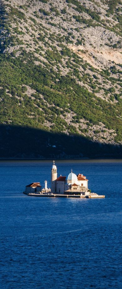The island of Sv. Đorđe, Perast, Montenegro