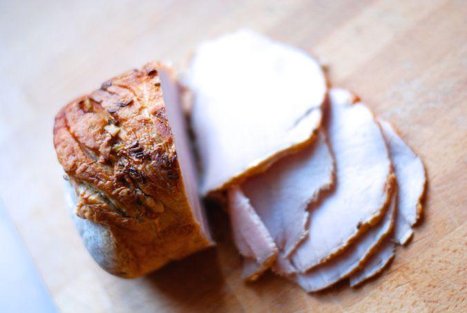 vepřová pečeně recept - upečené maso