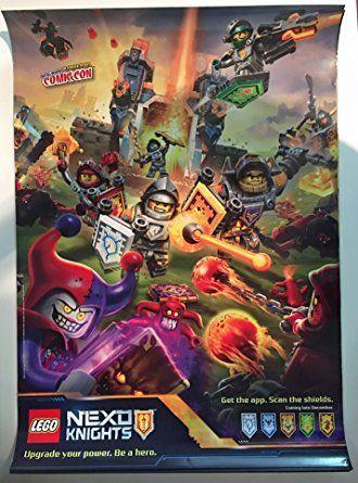 Bilderesultat for nexo knight plakat