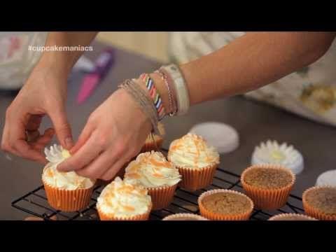 Cupcake Maniacs 7: Cupcakes de naranja con almendras - YouTube