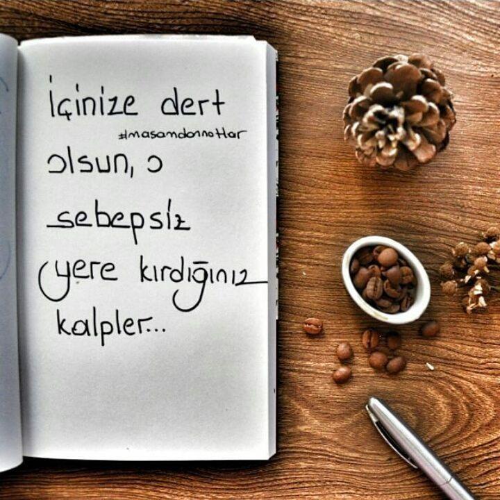 İçinize dert olsun, o sebepsiz yere kırdığınız kalpler... #sözler #anlamlısözler #güzelsözler #manalısözler #özlüsözler #alıntı #alıntılar #alıntıdır #alıntısözler #şiir #edebiyat #masamdannotlar