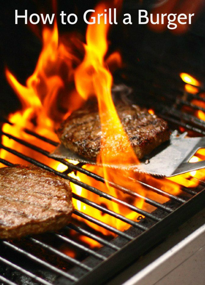 How to Grill Hamburgers -  Grilling a burger is easy and fast. Just follow the steps and it will turn out perfect every time. http://thewaytobbq.blogspot.ca/
