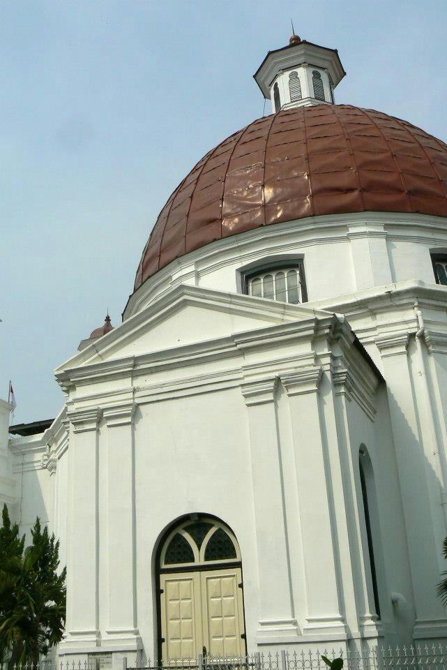 Blenduk Church, Semarang, Cenral Java. By me.