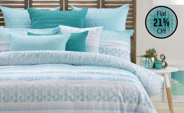 Jervis Quilt Cover Set by Bianca