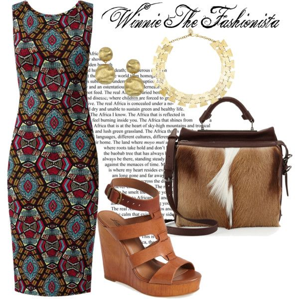 """AFRICAN QUEEN"" by winniethefashionista on Polyvore"