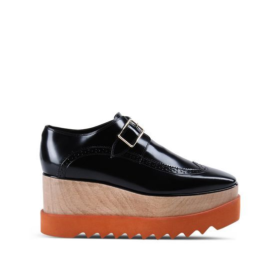 Black Brogue Elyse Shoes - Stella Mccartney Official Online Store - FW 2016…
