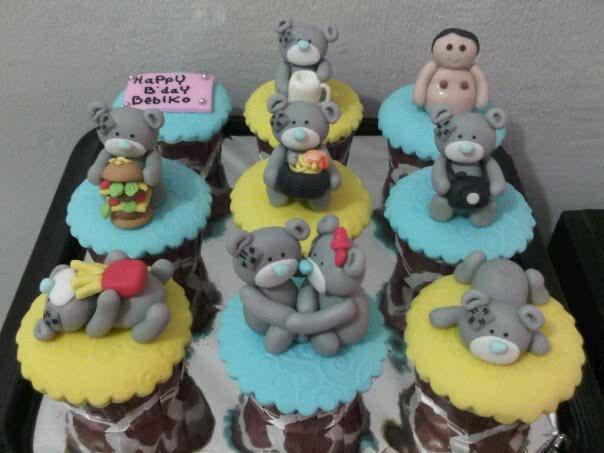 Bday Cupcakes ^^