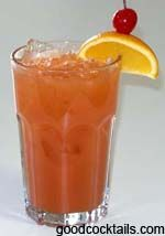 Alabama Slammer:  1 oz. Southern Comfort®  1 oz. Amaretto  1/2 oz. Sloe Gin or Grenadine  Orange Juice
