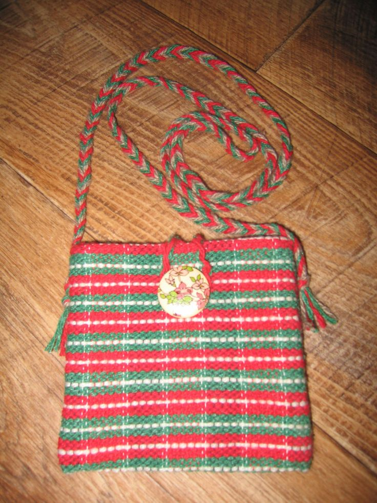 Little bag, hand-weaving, for phone, tablet, pad, little things by RussianStore on Etsy