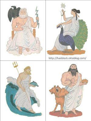 Πυθαγόρειο Νηπιαγωγείο: 12 θεοί του Ολύμπου