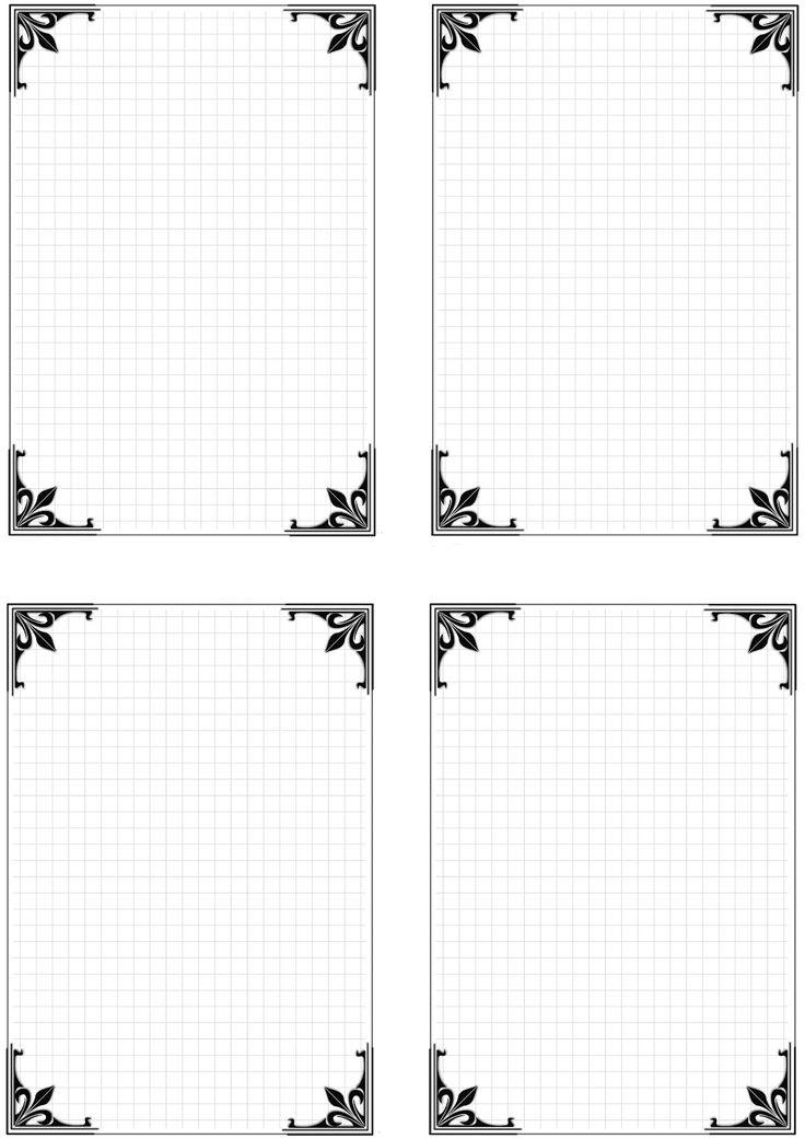 Картинки для оформления блокнота распечатать
