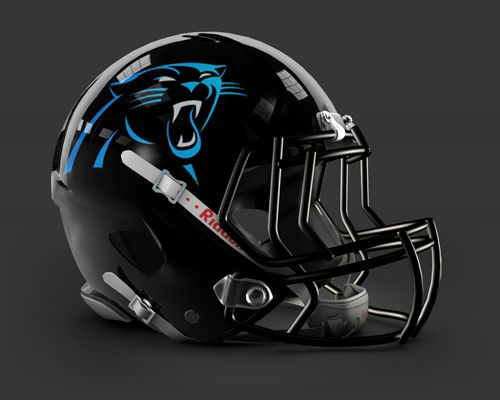 Panthers New Logo Helmet | Is this the new Panthers Helmet?