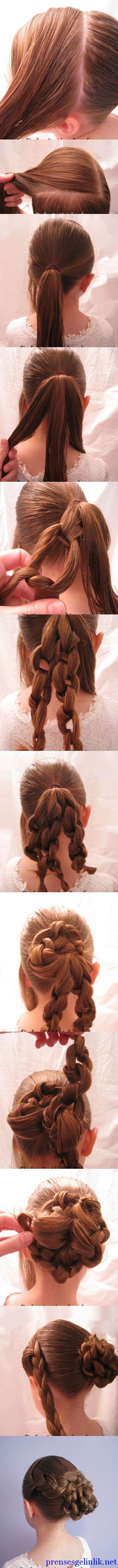 Evde kolay yapılan saç modelleri 2014 > 2014 saç modelleri2014 Prenses Gelinlik Modelleri | 2014 Gelinlik Modelleri