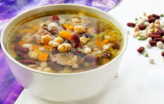 Бобовый суп мексиканская кухня