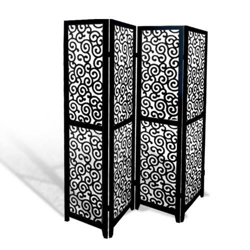 Ornately Swirled Folding Room Divider Http Www Amazon