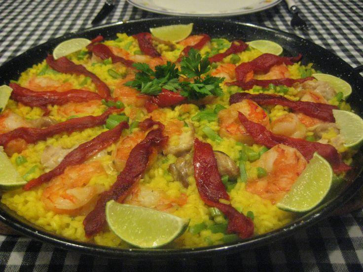 Mi Paella. Click on the picture for the recipe.