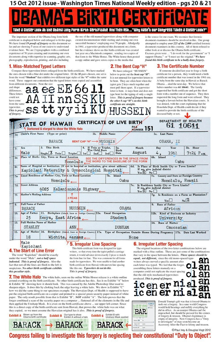 17 beste ideer om long form birth certificate p pinterest 19 nov 2012 obama long form birth certificate pdf file is not legitimate and is aiddatafo Images