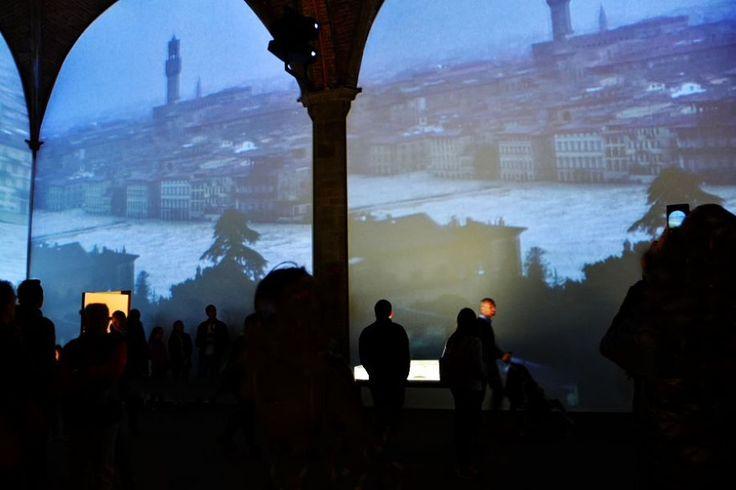 """""""Alfabeti Sommersi"""" in Sala d'Arme di Palazzo Vecchio"""