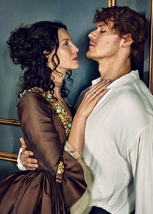 "jamesandclairefraser:  Balfe says she and Heughan share similar personalities. ""We like to work hard and we have quite a silly side to our personalities. We like to goof around."""