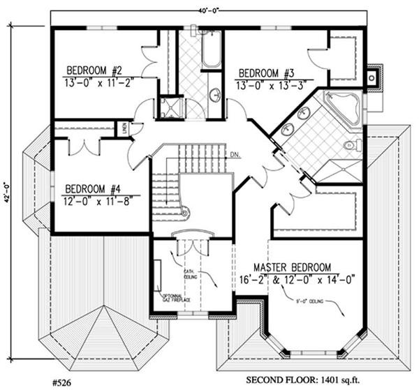Master Bedroom With Sitting Area Floor Plan