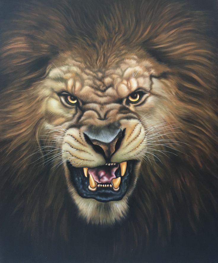 львиный оскал фото герб
