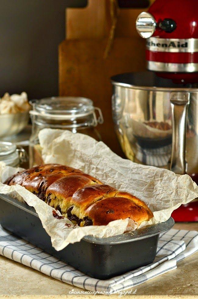 La Cucina Scacciapensieri: Pan brioche al cioccolato a lievitazione naturale
