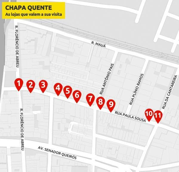 Atualizado em 29/3/2016 por Alessandra Freitas O centro da capital reúne uma série de ruas temáticas. Na Marquês de Itu ficam as lojas de materiais artísticos, naBarão de Paranapiacaba há joalheri…