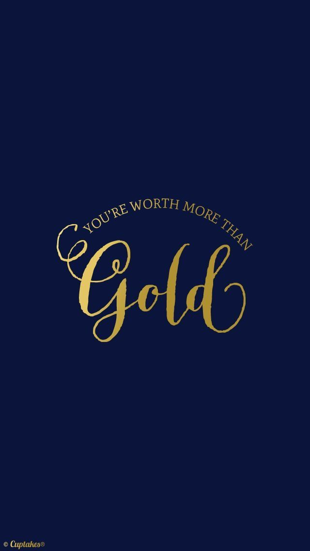 simple blue gold quote iphone wallpaper lock screen wallpaper iphone pinterest blue gold. Black Bedroom Furniture Sets. Home Design Ideas