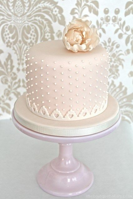 1000 Ideas About Single Layer Cakes On Pinterest
