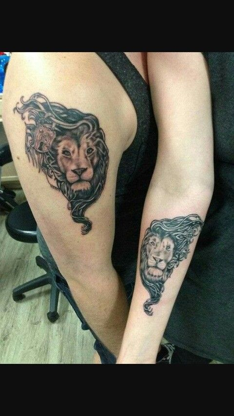 20 Roaring Lion Tattoos For Couples Ideas And Designs