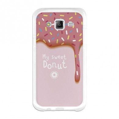 BeCool Samsung Galaxy J5 TPU Hülle Sweet Donut
