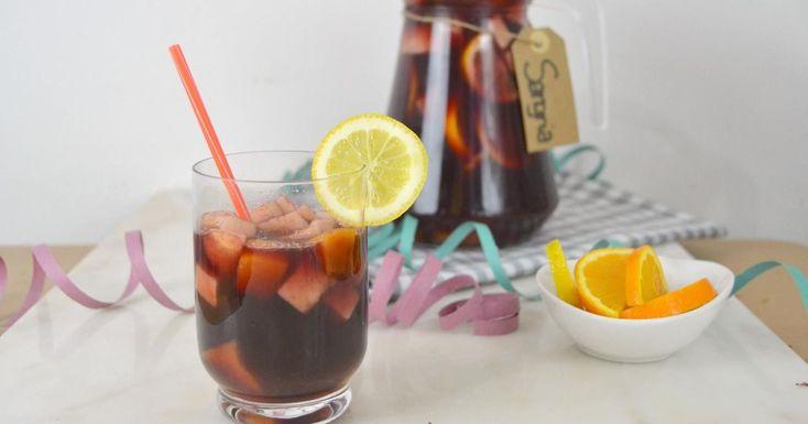 Cómo preparar sangría, bebida made in Spain