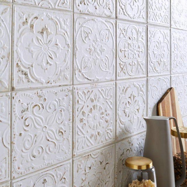 Epingle Par Emmanuelle Dupont Sur Deco Maison Sol Carreaux De Ciment Carreau De Ciment Ciment Blanc
