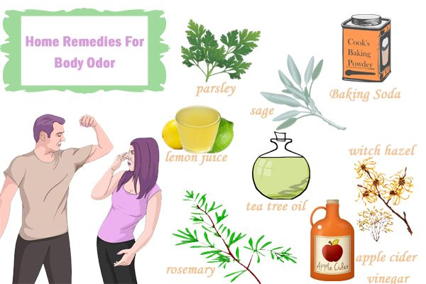 Natural Ways To Get Rid Of Armpit Odor