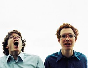 Kings of Convenience.  I love the expression here!