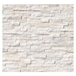 premier worldwide arctic white ledger panel 6x24 split face arctic white quartzite ledger panels - Exterior Wall Designs